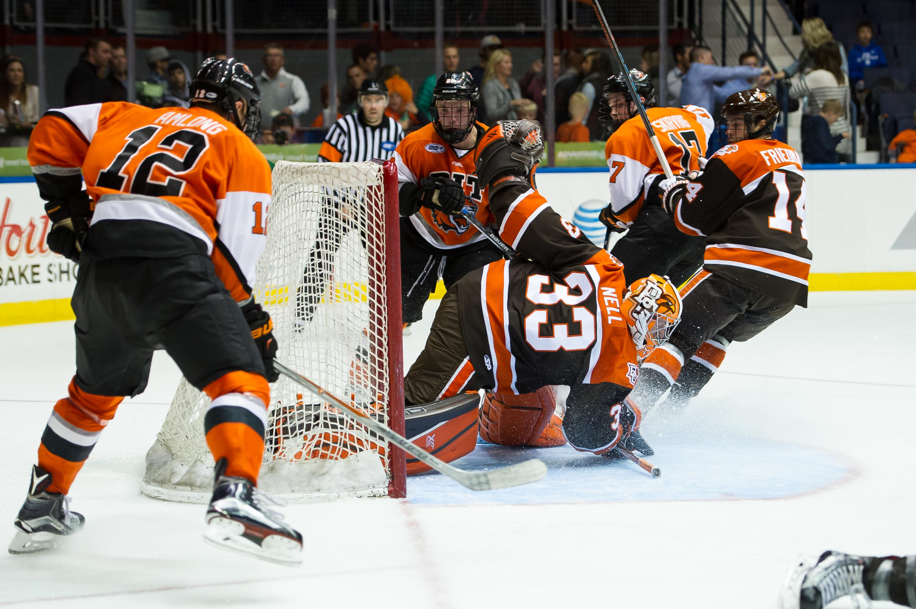 Falcons and Tigers Fight to 2-2 Tie