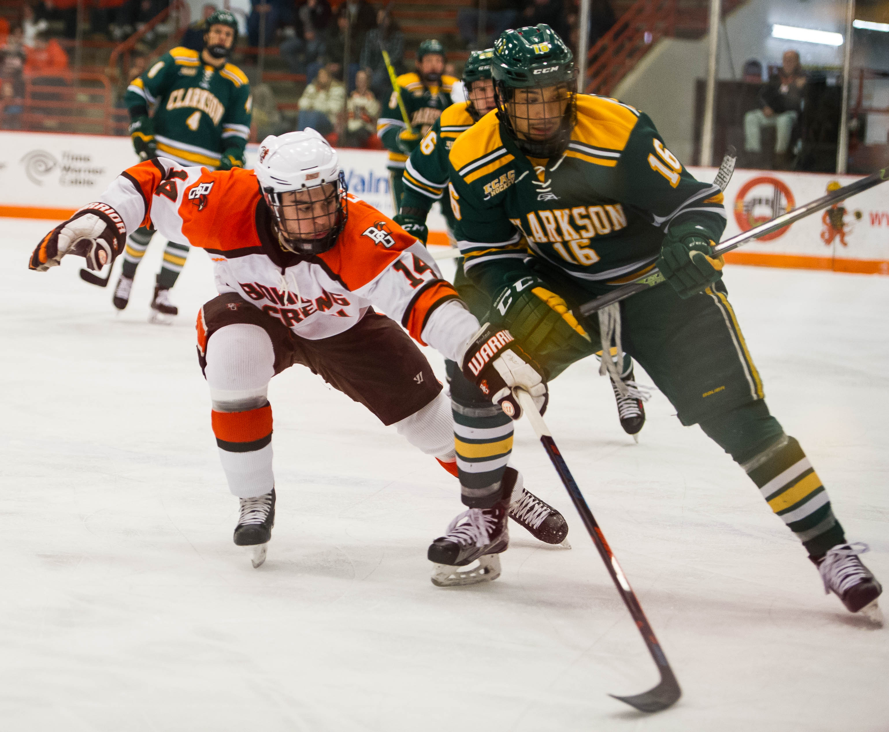 Home streak ends in 3-2 loss to Clarkson