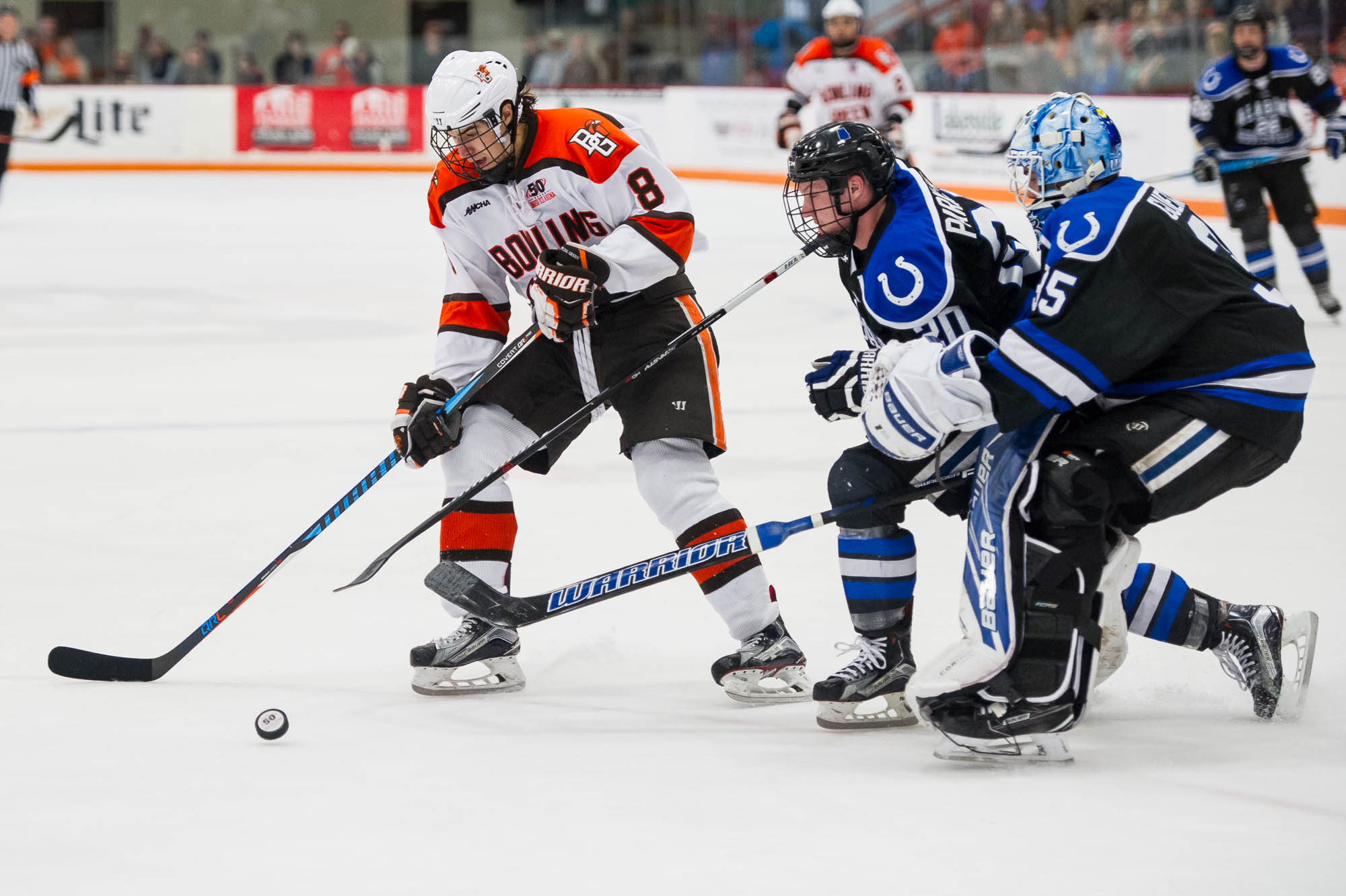 BG plays well, moves closer to home ice